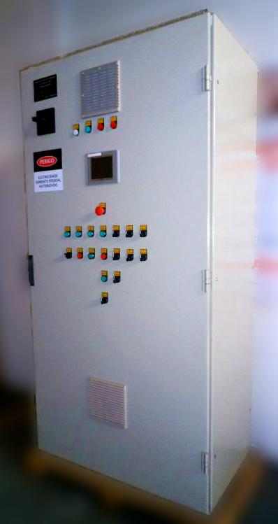 Painel elétrico Marc Automação
